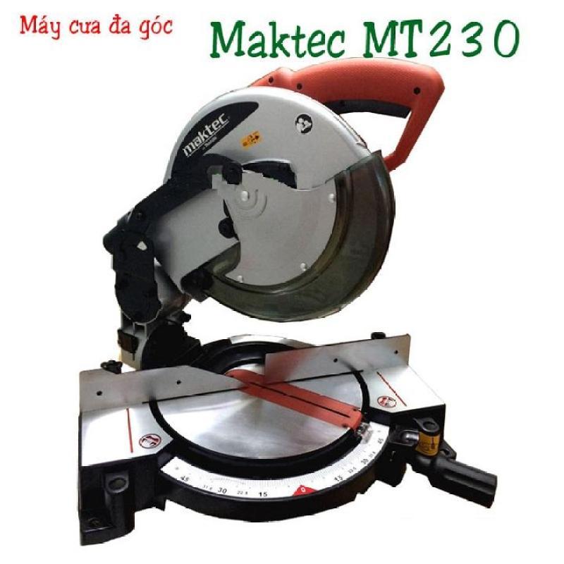 Máy cưa đa góc Maktec MT230 - Máy cắt nhôm