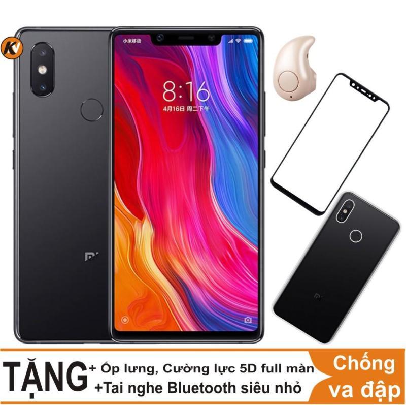 Xiaomi Mi 8SE 64GB Ram 6GB Khang Nhung (Đen) + Ốp lưng + Cường lực 5D full màn (Đen) + Tai nghe Bluetooth siêu nhỏ