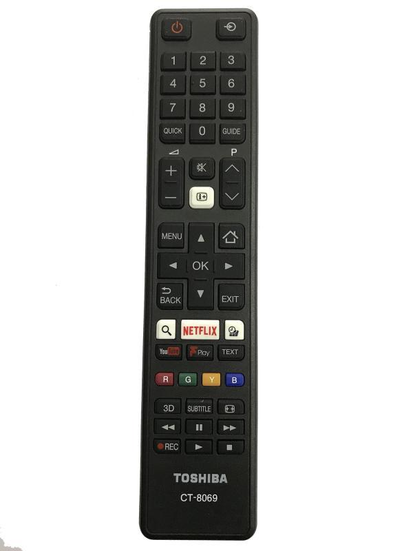 Bảng giá Điều khiển tivi TOSHIBA smart CT - 8069 xịn (đen)