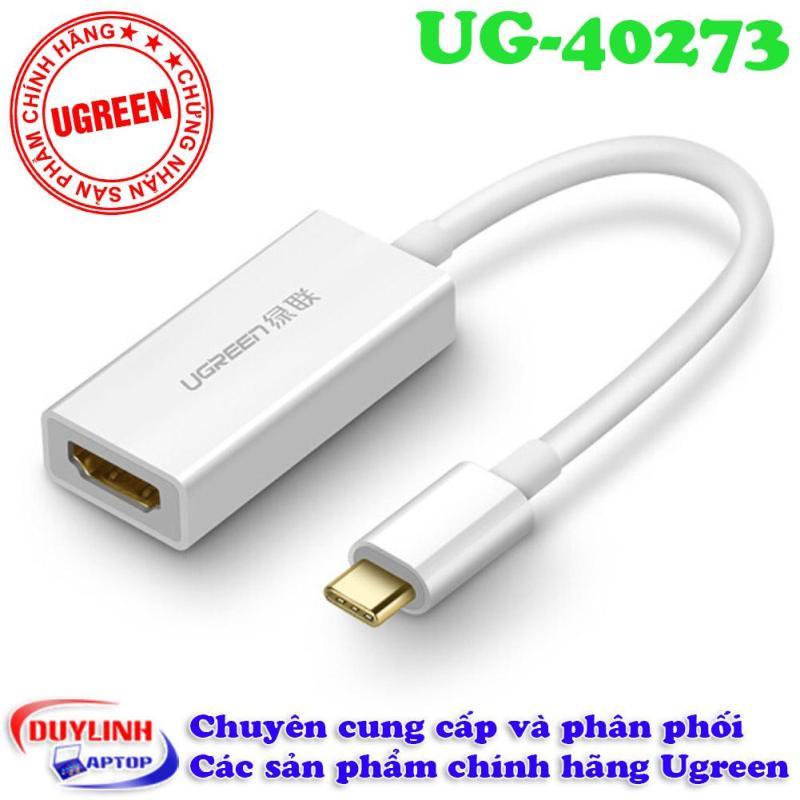 Bảng giá Cáp USB Type C to HDMI Ugreen 40273 hỗ trợ 4K*2K, 3D Phong Vũ
