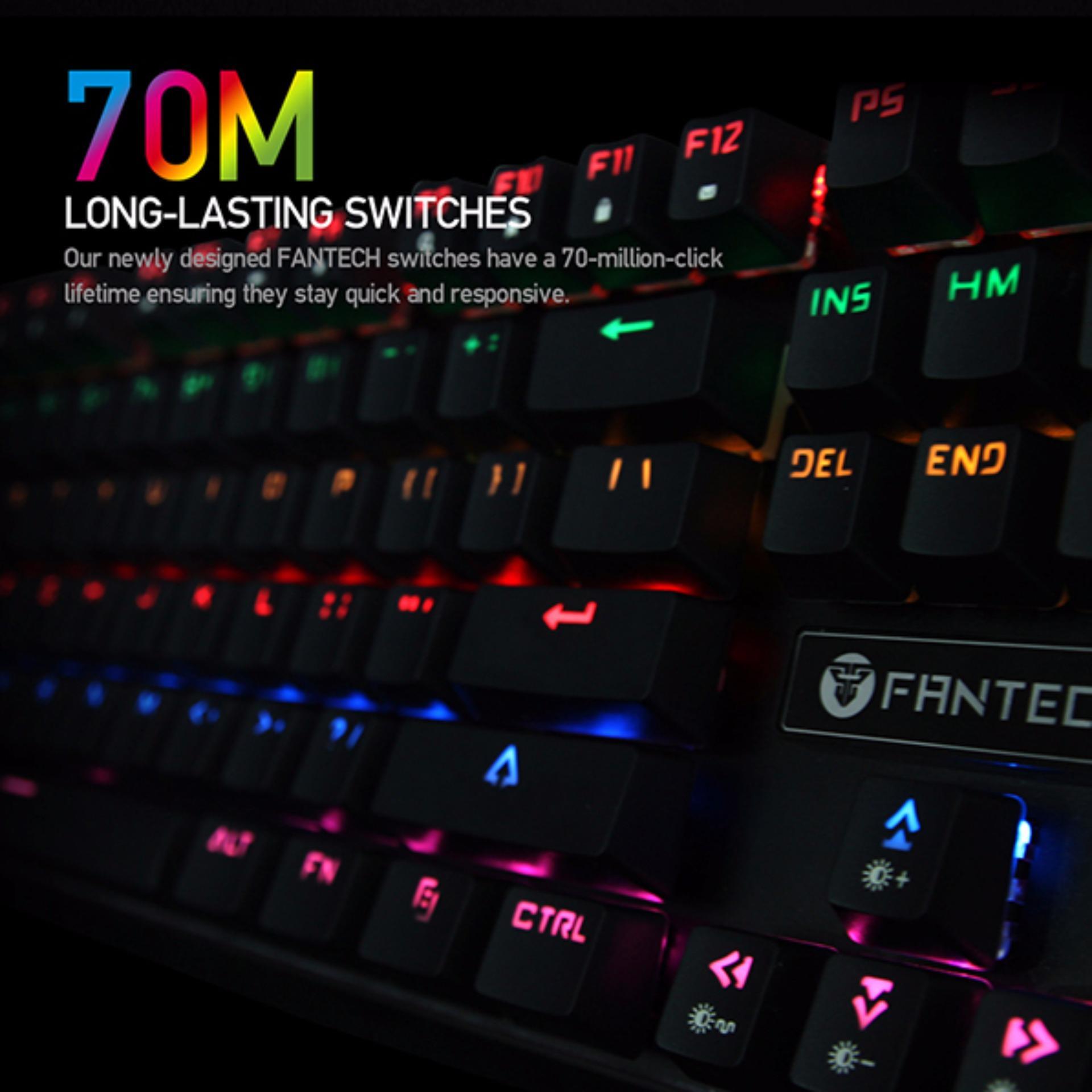 Mua Bn Phm Chi Game Fantech Gi Tt Fantech K710 Mechanical Keyboard Semi C Rgb Mk871