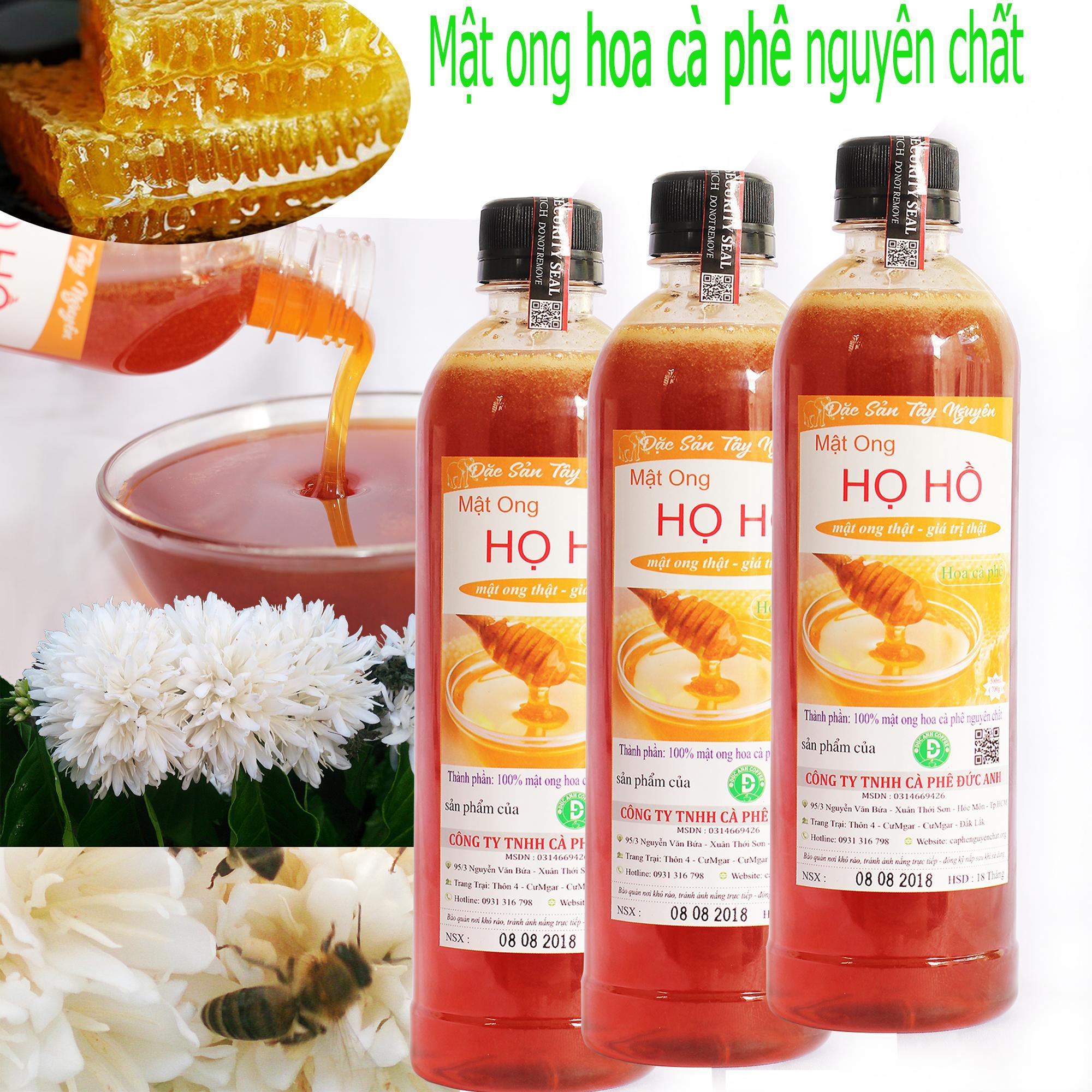 Hình ảnh COMBO 3 CHAI mật ong nguyên chất hoa cafe (mỗi chai 700gr tương đương 500ml) -công ty TNHH cà phê ĐỨC ANH
