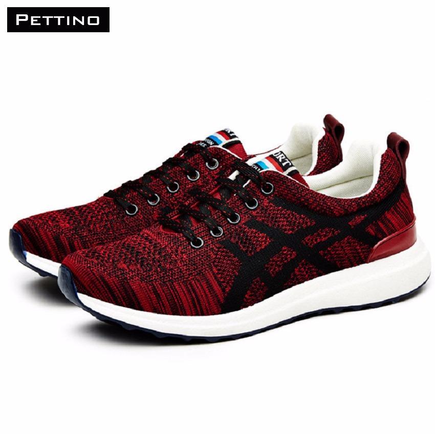 Bán Giay Nam Sneaker Pettino Gt05 Đỏ Có Thương Hiệu Nguyên