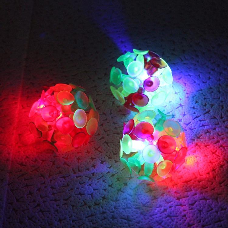 Hình ảnh Bộ 3 bóng ném dính Sticky Ball có đèn Led