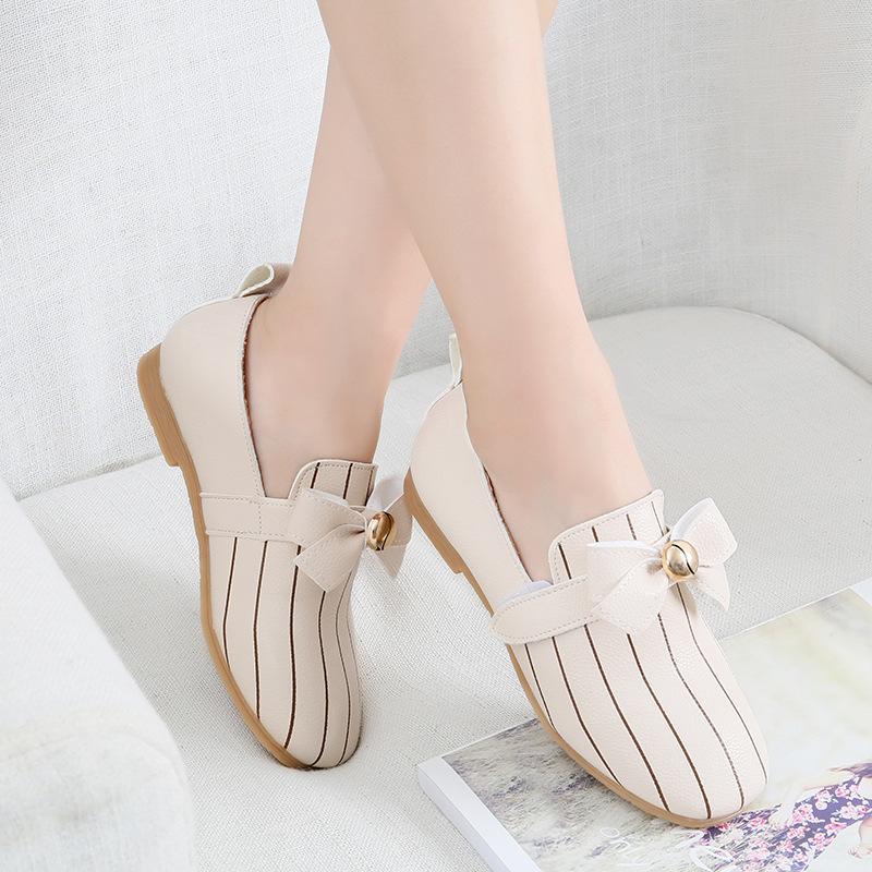 Hình ảnh Giày búp bê cho bé gái phong cách Hàn Quốc điệu đà - 05BB110