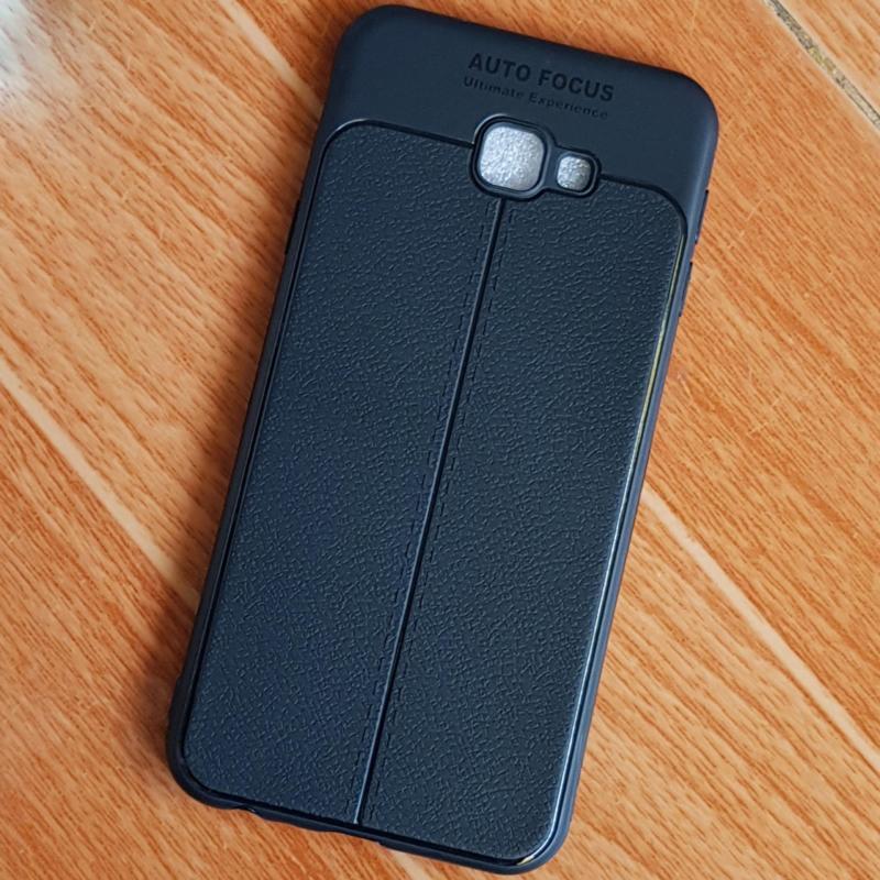 Giá Ốp Lưng Samsung Galaxy J4 Plus (J4+) Giả Da Chỉ Bóng Siêu Bền Cao Cấp