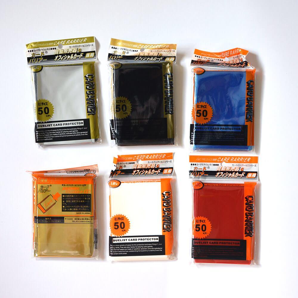 Hình ảnh Sleeves Bọc bài cao cấp KMC 6.5 x 9 cm (50 chiếc) màu trắng
