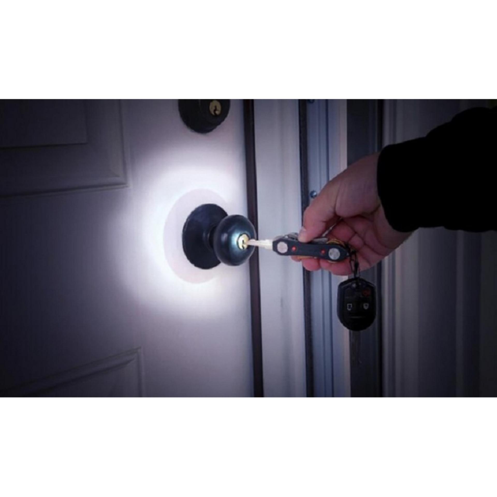 Móc chìa khóa Key Ninja đa năng có đèn LED trợ sáng