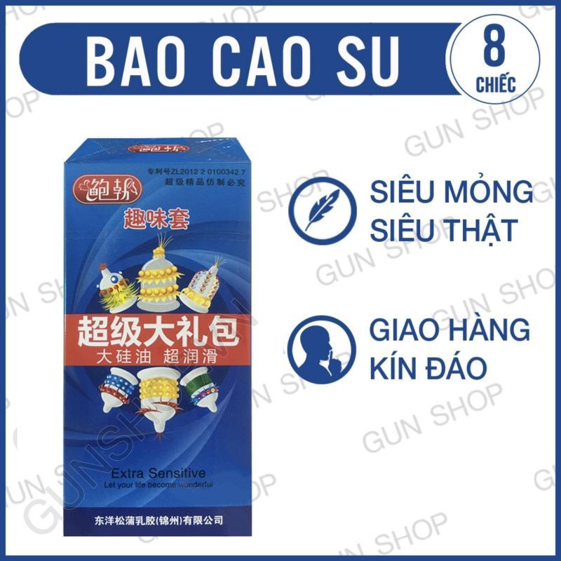 Bao Cao Su Runbo Bi,Gai (Hộp Xanh 6 chiếc) - [GUNSHOP BCS01]