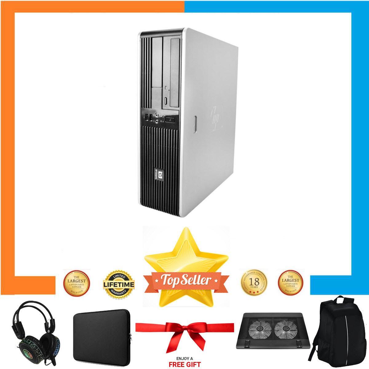 Máy tính đồng bộ HP DC 5800 SFF Nguyên Bản, Chạy CPU Core 2 Quad Q9400, Ram 8GB, HDD 500GB + Bộ Quà Tặng