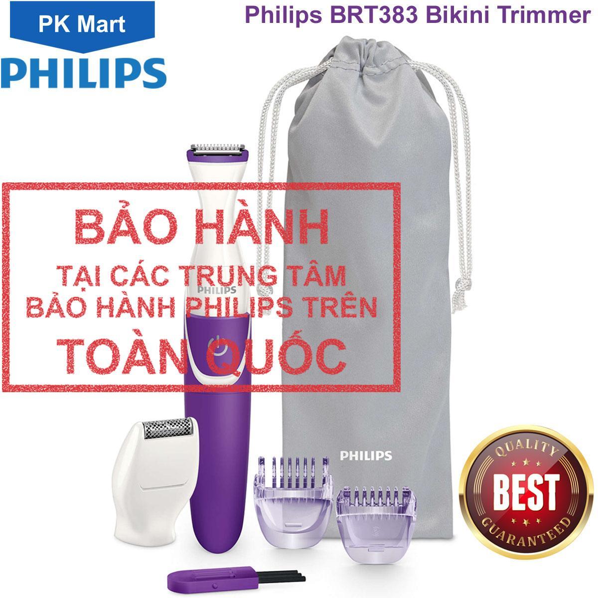 Máy làm sạch lông vùng kín phụ nữ Philips BRT383 nhập khẩu