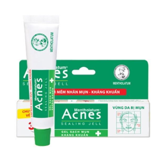 Gel ngừa mụn, kháng khuẩn Acnes Sealing Jell 18g nhập khẩu