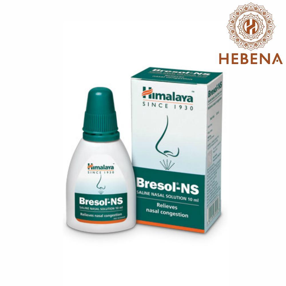 Hình ảnh Thuốc xịt trị nghẹt mũi Himalaya Bresol-NS - hebenastore