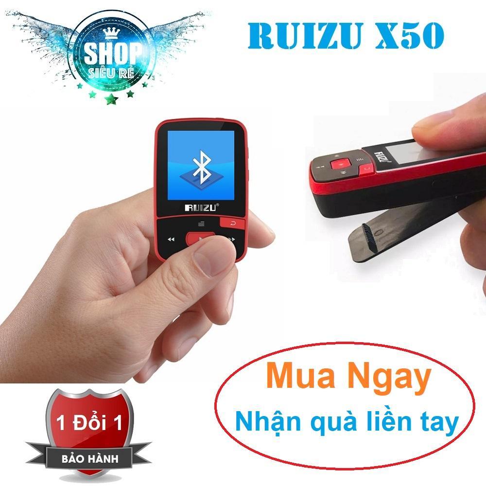 Máy nghe nhạc lossless kiêm bluetooth receiver Ruizu X50