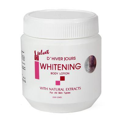Kem Ngày Đêm Velvet DHIVER JOURS Whitening Body Lotion Net 350g nhập khẩu