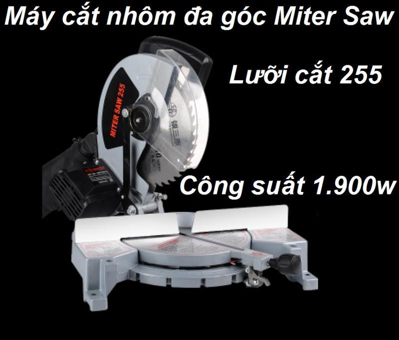 Máy cắt nhôm Miter saw  may cat nhom