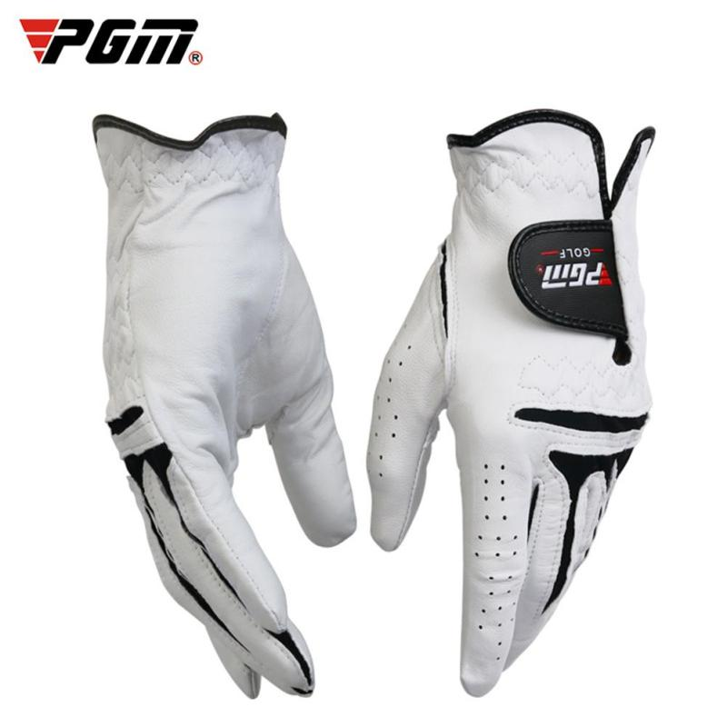 Mua YANYI Mens Golf Gloves Breathable Leather Sheepskin Left/Right Hand Anti-skid Glove