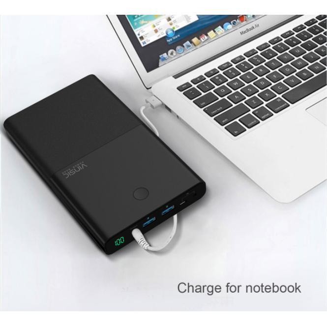Pin sạc dự phòng dung lượng lớn 30.000mAh dành cho laptop và các thiết bị di động Vinsic Power