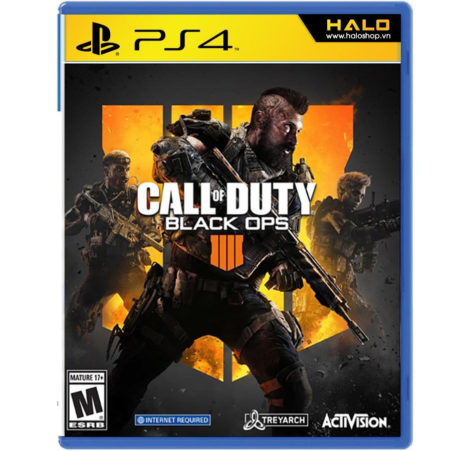 Hình ảnh Đĩa Game PS4 Call of Duty: Black Ops 4 - ASIA