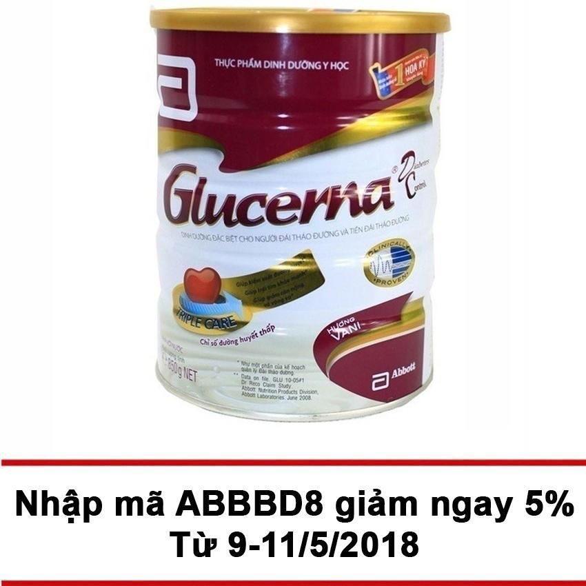 Ôn Tập Lon Sữa Bột Glucerna Hương Vani 850G