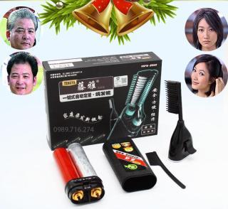Lược nhuộm tóc thông minh tengya thế hệ mới nhuộm phủ tóc bạc (Nhuộm đen, Nâu Trầm) thumbnail
