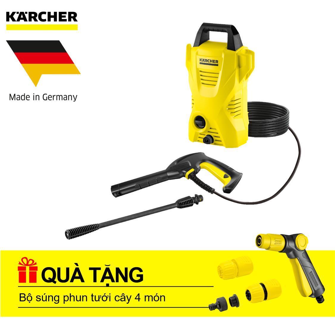 Máy phun rửa áp lực cao Karcher K 2360 - Tặng Bộ Phun Nước Tưới Cây