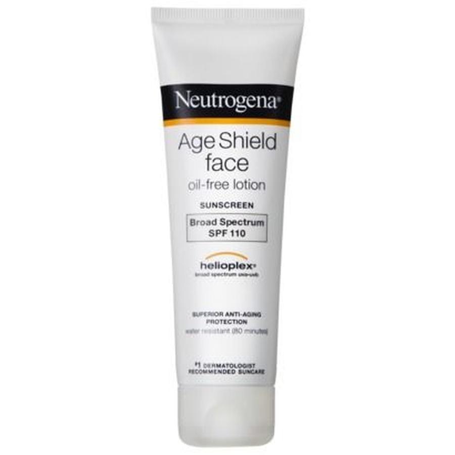 Kem Dưỡng Da Ban Ngày Chống Nắng Chống Lão Hóa Neutrogena Age Shield Face Oil-Free Lotion Sunscreen Broad Spectrum SPF 110