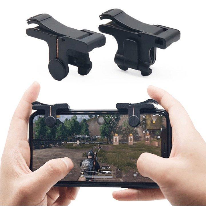 Bộ 2 nút bấm cơ hỗ trợ chơi PUBG mobile ,ROS mobile trên điện thoại siêu nhạy