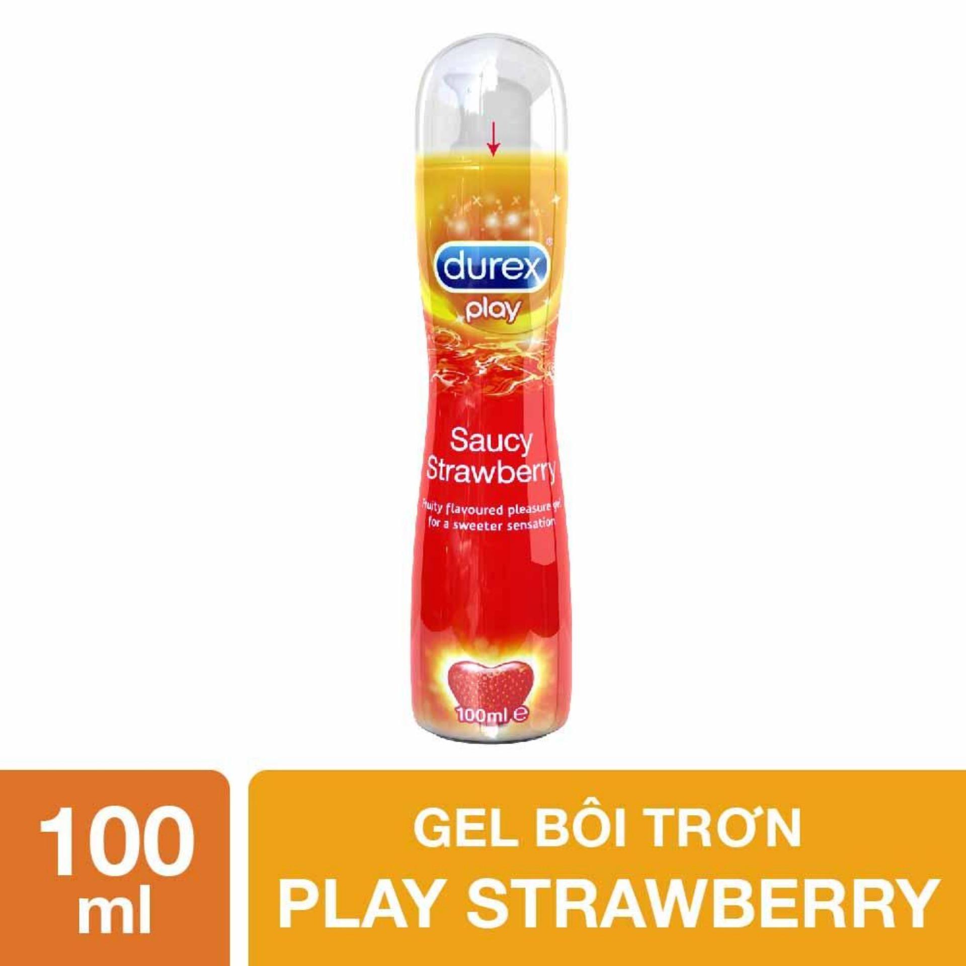 Hình ảnh Gel bôi trơn Durex Play Strawberry 100ml