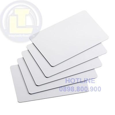 Phôi Thẻ Nhựa PVC trắng (100 thẻ)