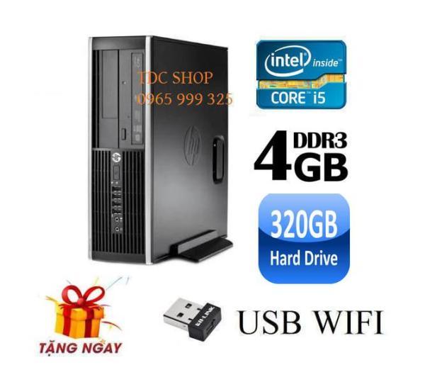 Bảng giá Cây máy tính để bàn HP 6200 Pro Sff (CPU i5 2400, Ram 4GB, HDD 320GB, DVD) + Tặng USB Wifi - Hàng Nhập Khẩu Phong Vũ
