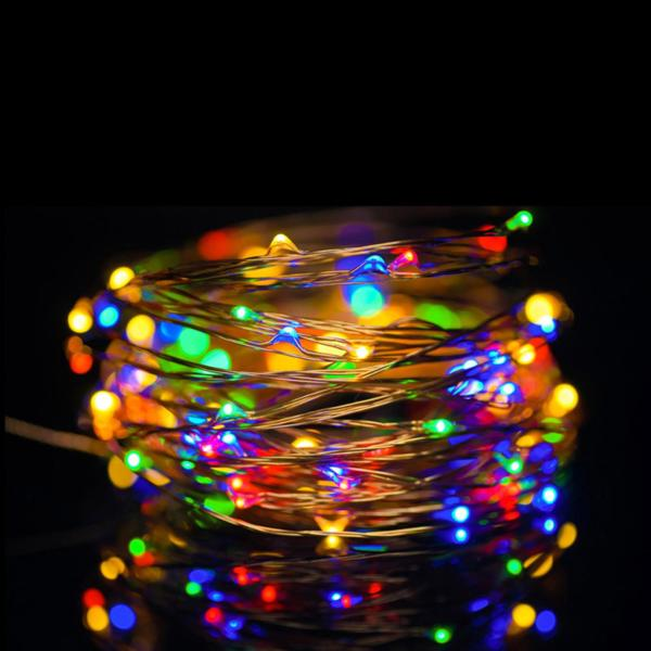 LED Fairy Lights - Đèn Đom Đóm 10M - RGB