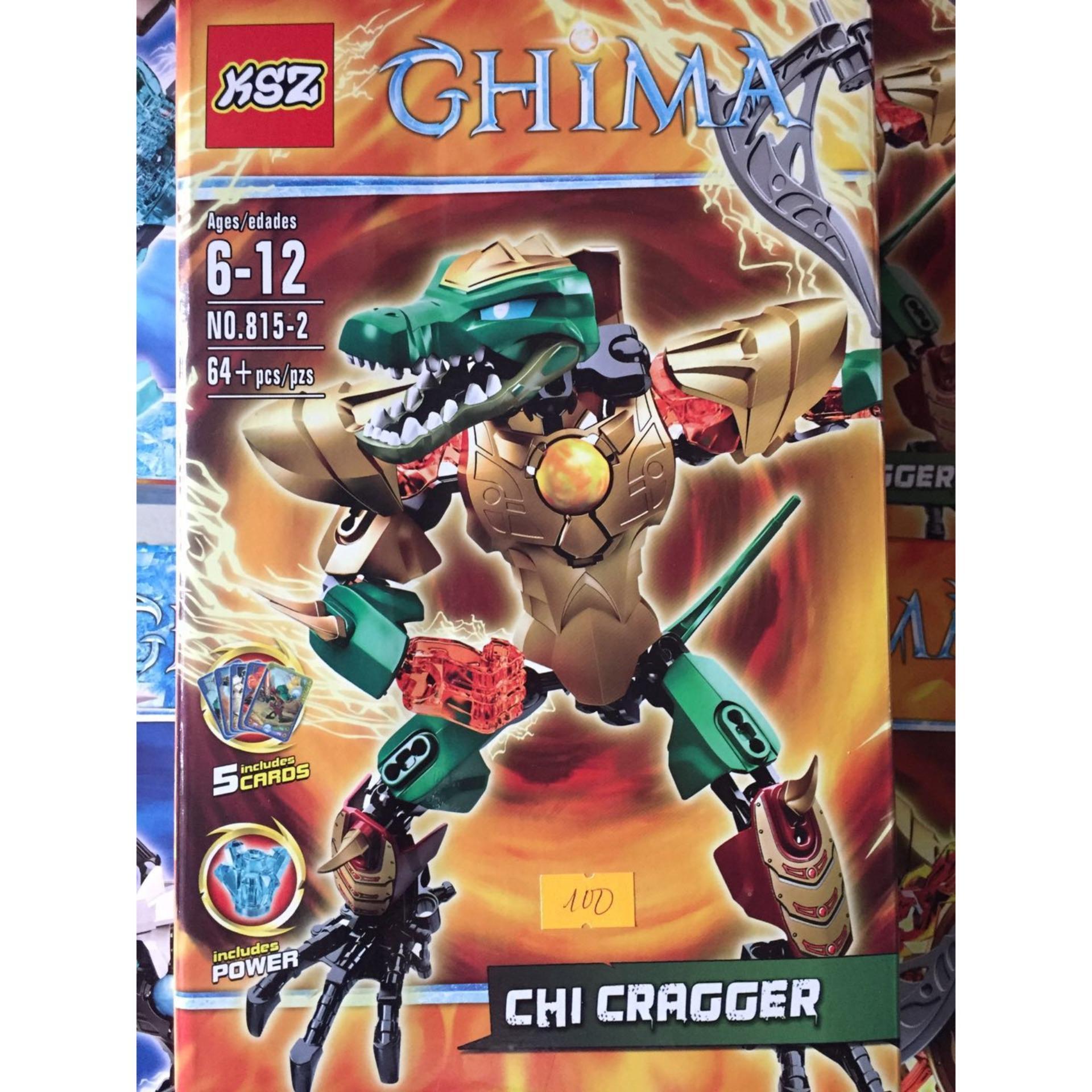 Hình ảnh Chima 815-2-Cá Sấu