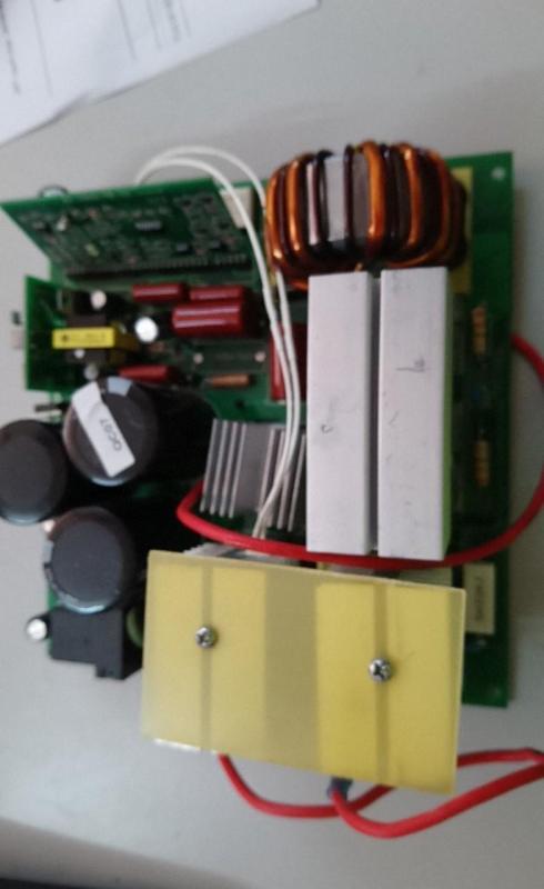 Bo mạch máy hàn que điện tử 250 - phụ kiện máy hàn que