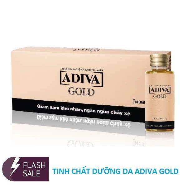 Tinh chất Collagen ADIVA GOLD (Hộp 14 lọ x 30 ml)
