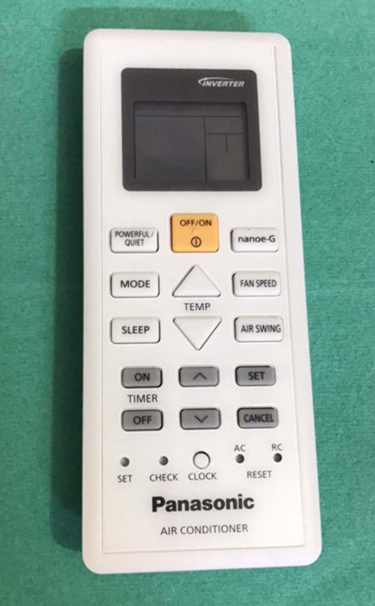 Điều khiển điều hòa panasonic inverter  02 xịn (trắng)