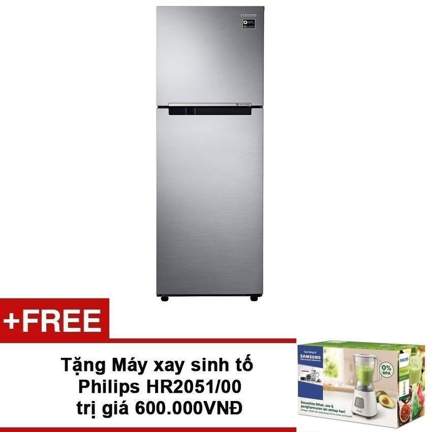 Hình ảnh Tủ lạnh Digital Inverter Samsung RT22M4033S8/SV ( 236L ) + Tặng Máy xay sinh tố Philips HR2051/00 trị giá 600.000VNĐ