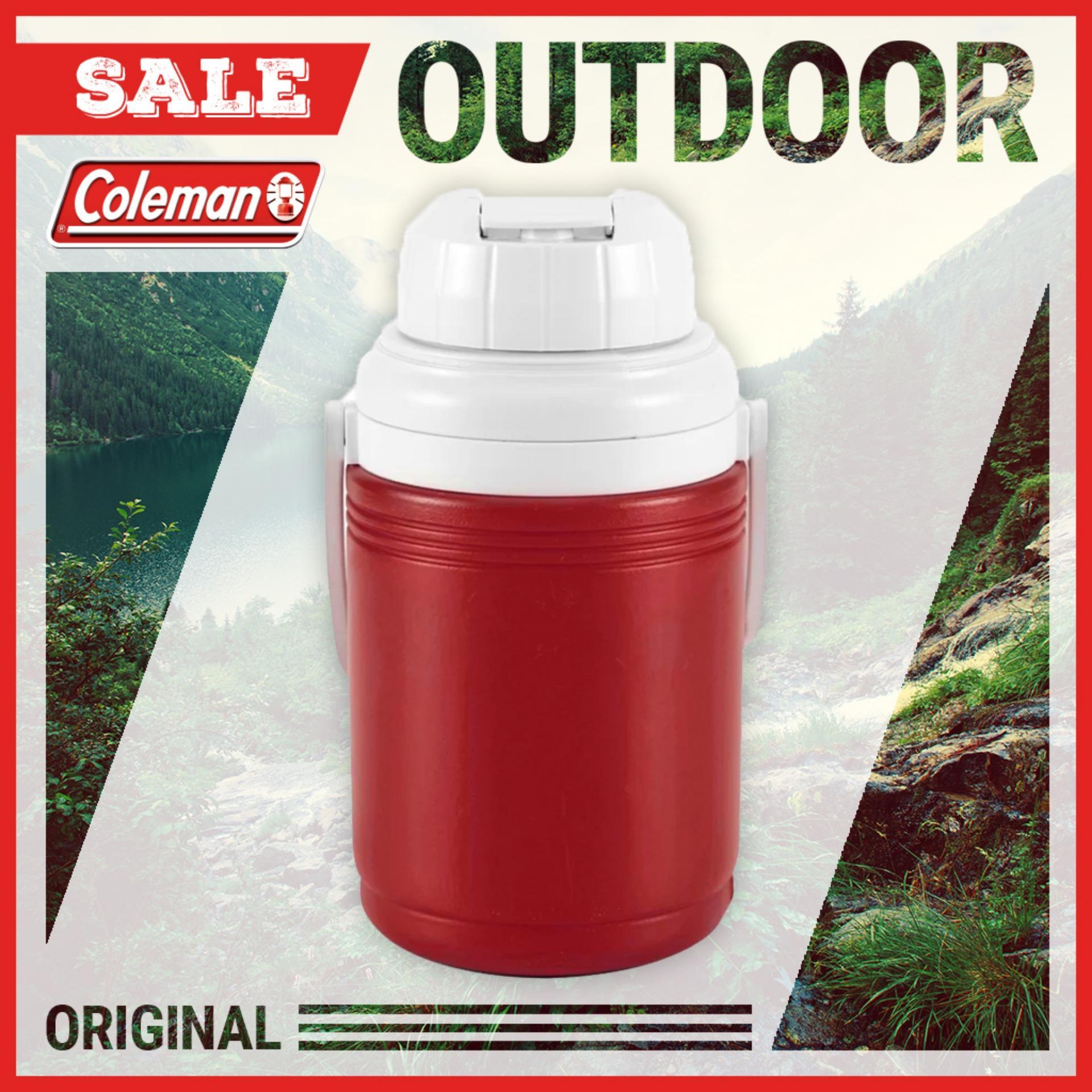 Bình giữ lạnh Coleman 1.2L (Đỏ) 5542B763G - Hàng Phân Phối Chính Thức