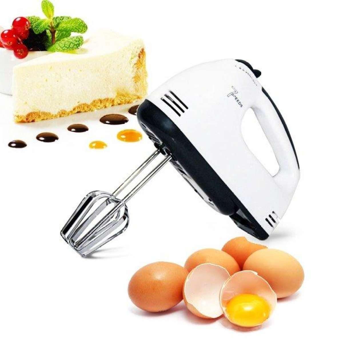 Máy Đánh Trứng Cầm Tay 7 Cấp Tốc Độ 180W Scarlett - Trắng Giảm Cực Khủng
