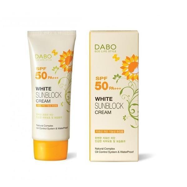 Kem chống nắng và làm trắng da Sunblock Cao cấp DABO Hàn Quốc 70ml