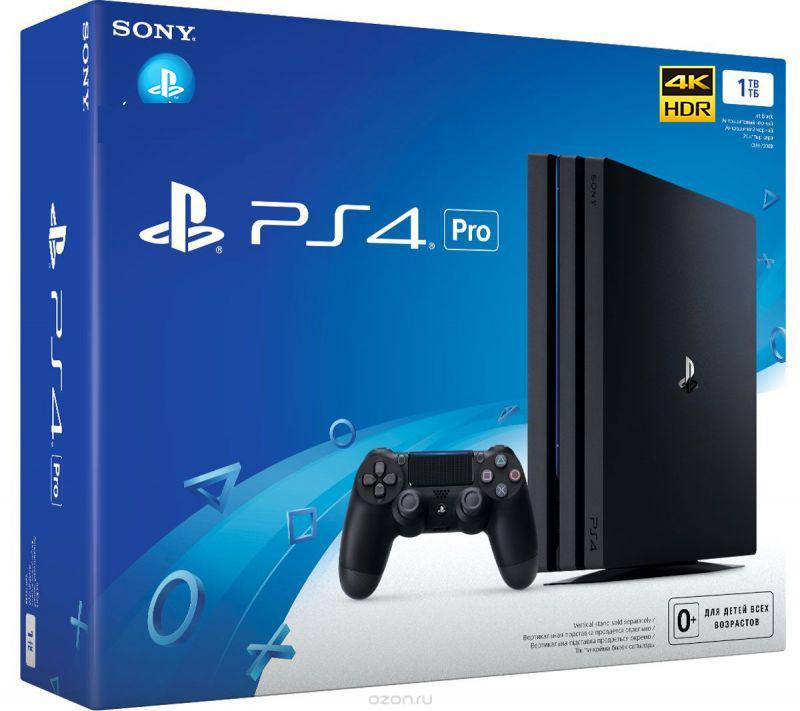 Hình ảnh Máy Chơi Game Sony PlayStation 4 PS4 Pro 1TB CUH 7106B