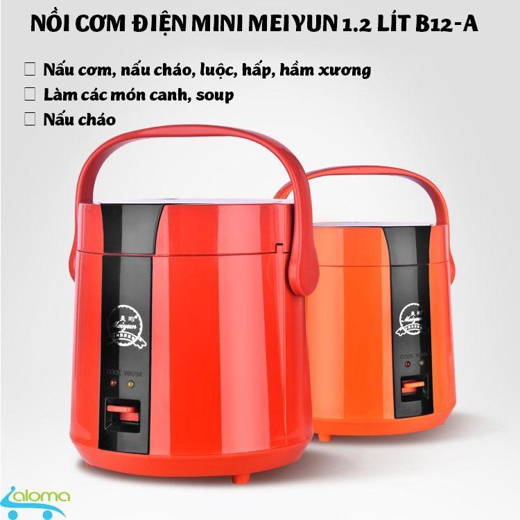 Nồi Cơm Điện B12 A 1 2 Lit Mini Meiyun Nấu Cơm Ham Nong Nấu Chao Hoặc Hầm Xương Red Trong Hà Nội