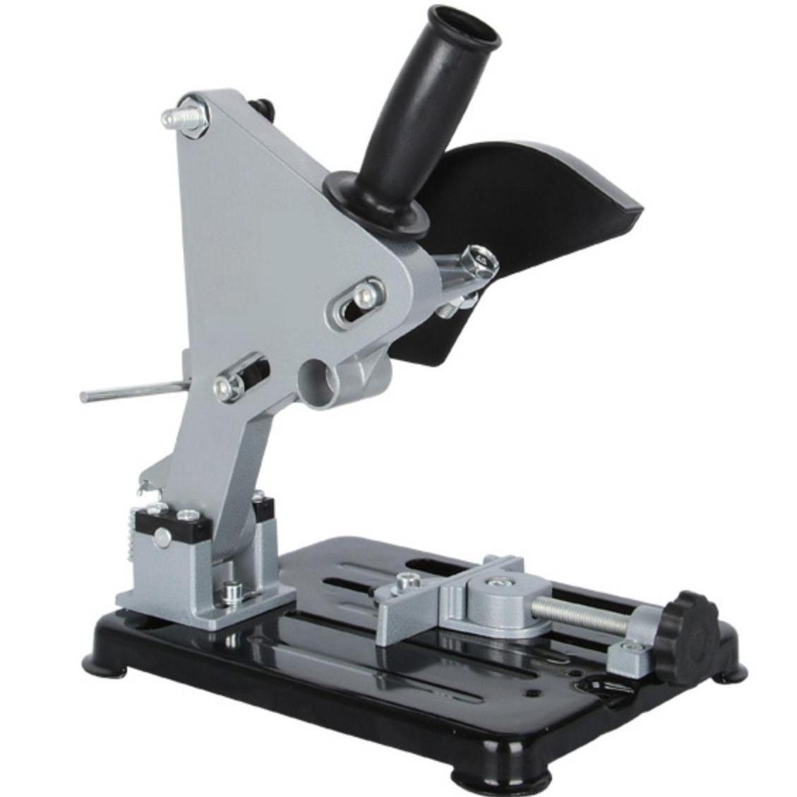 Hình ảnh Bộ chân đế kẹp chuyển máy mài thành máy cắt bàn