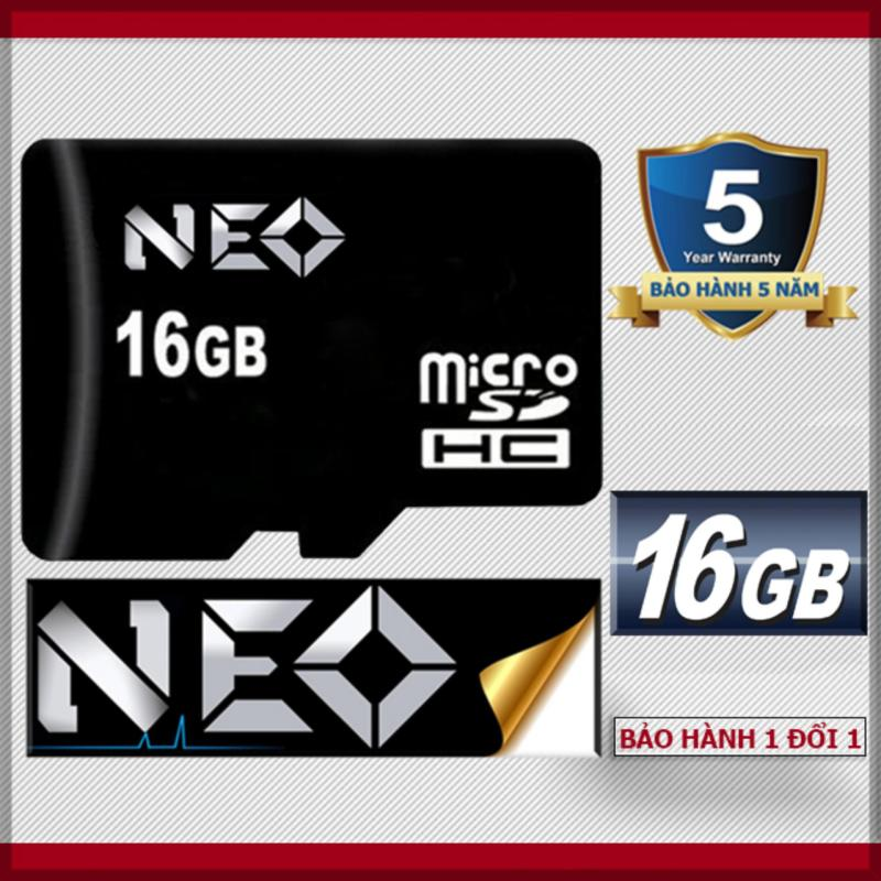 Thẻ nhớ 16GB NEO micro SDHC - Bảo hành 1 đổi 1 trong 5 năm