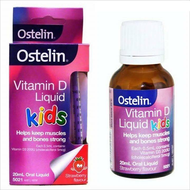 Vitamin D Ostelin Liquid Kids Dạng Nước Của Úc (20ml)