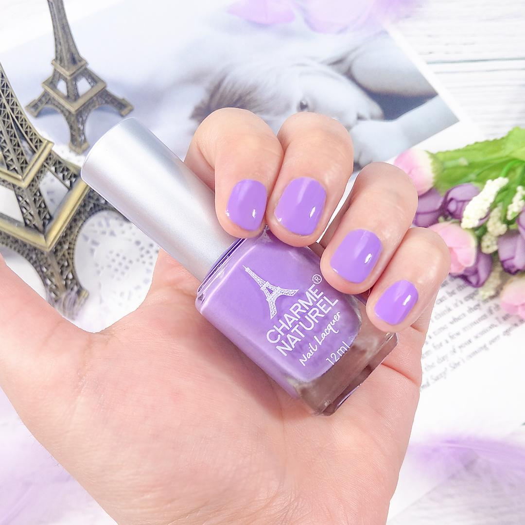 Sơn móng tay màu cao cấp Charme Naturel (màu 5901 Lavender) tốt nhất