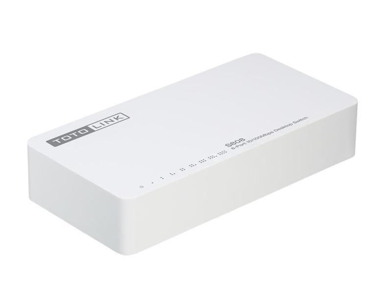Bảng giá Switch 8 cổng 100Mbps TOTOLINK S808 - Hãng Phân Phối Chính Thức Phong Vũ