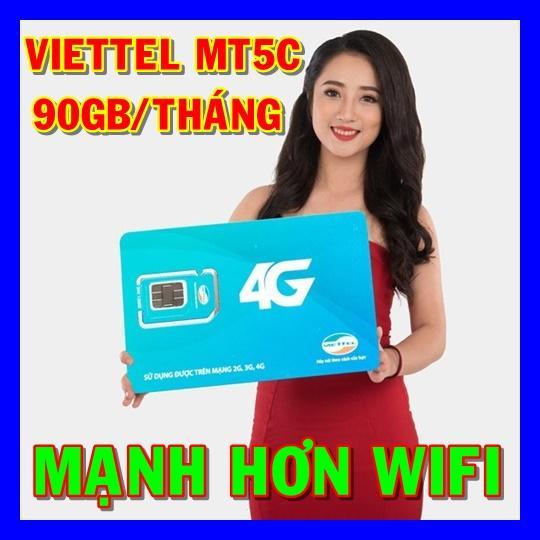 Hình ảnh Thánh sim 4G Viettel MT5C 90GB/Tháng (5.000đ/3GB) - Shop Sim giá rẻ