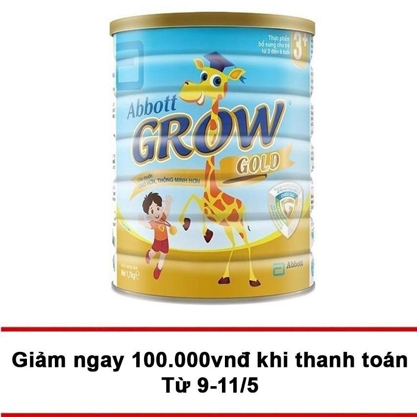 Bán Sữa Bột Abbott Grow Gold 3 Hương Vani 1 7Kg Có Thương Hiệu Nguyên