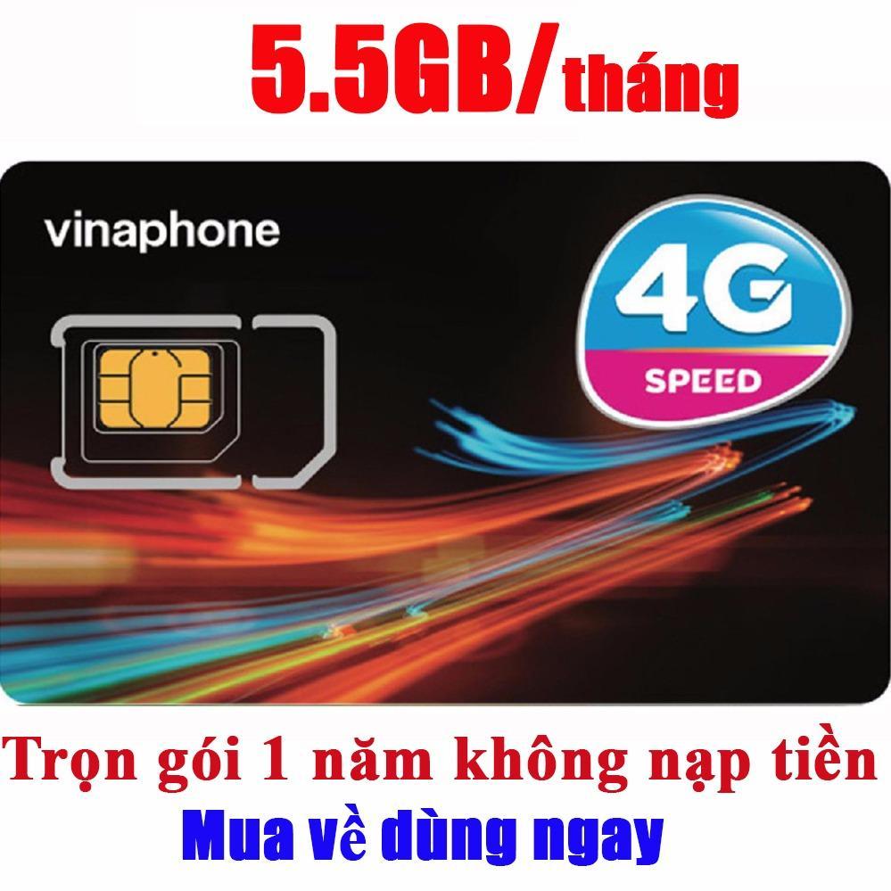 Giá SIM 4G Vinaphone D500  Vina12T Tặng 5GB/Tháng X 12 tháng Trọn Gói 1 Năm